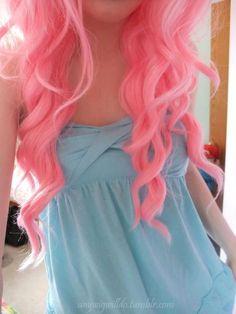Pink curls <3