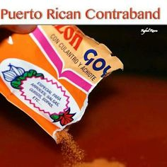 ! Puerto Rican seasoning...A must have in every Puerto Rican kitchen.