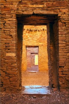 Chaco Canyon, National Historic Park, New Mexico; photo by Michael Greene