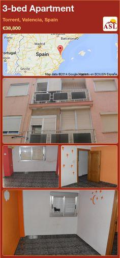 3-bed Apartment in Torrent, Valencia, Spain ►€38,800 #PropertyForSaleInSpain