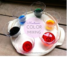 Montessori on Mars: Montessori Color Mixing