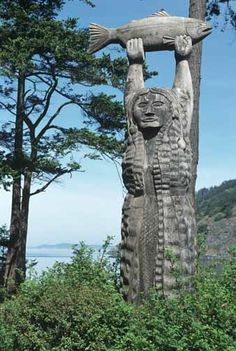 Entrance to the Samish Nation. We are mainlander's and island people of the Pacific Northwest