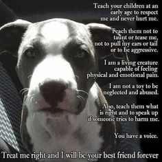 I am a living creature capable of feeling physical and emotional pain. Snoop Dogg, Dog Love, Puppy Love, Pitbulls, Stop Animal Cruelty, Dog Cruelty, Emotional Pain, Pit Bull Love, Best Friends Forever