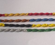 Simple Harry Potter House Colours Bracelet.