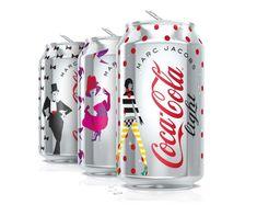 Coca Cola Light designées par Marc Jacobs
