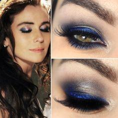 Tutorial – maquiagem azul da Clara (Giovanna Antonelli)!