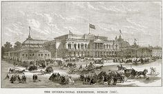 The International Exhibition, Dublin (1865). Illustration from The Life and Times of Queen Victoria by Robert Wilson (Cassell, 1893).