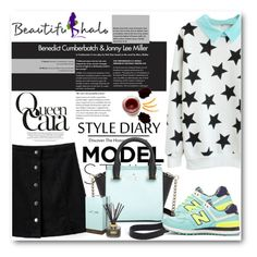 """""""Beautifulhalo 23"""" by fashionmonsters ❤ liked on Polyvore featuring New Balance, Kate Spade, Belle Fleur, women's clothing, women, female, woman, misses, juniors and beautifulhalo"""