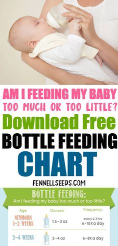 Bottle Feeding: Am I Feeding My Baby Too Much or Too Little? - Pregnancy & Newborn Babies Bottle Feeding: Am I Feeding My Baby Too Much or Too Little? Bottle Feeding – how much is enough? Baby Feeding Chart to know much formula to give your baby Formula Feeding Chart, Baby Feeding Chart, Baby First Food Chart, Baby First Foods, Before Baby, After Baby, How Much Formula, Baby Infographic, First Time Parents