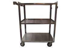 Industrial Stainless Cart on OneKingsLane.com