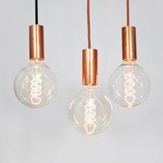 Leuchten mit industriellem Chic