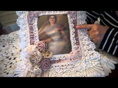 """""""Sophisticated Lady """" Wall Hanging - YouTube"""