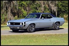 1969 Chevrolet Camaro SS 396/350 HP, 4-Speed presented as lot F251 at Kissimmee, FL 2013 - image1