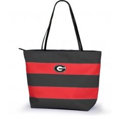 Georgia Bulldogs Game Day Rugby Tote, available at TotallyCollegiate.com