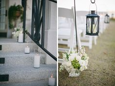 Wedding Ceremony on the Lawn at The River House St. Augustine by Brooke Images