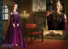 Katherine Howard- Arabian Night Dress by on DeviantArt Arabian Nights Dress, Narnia, Tudor Dress, Katherine Howard, Wives Of Henry Viii, Doll Divine, The Royal Collection, Beautiful Outfits, Beautiful Clothes