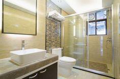 Resultado de imagen para baños modernos pequeños con ducha