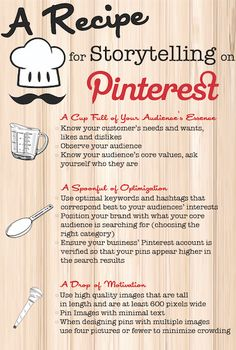 Convert Pinners Into Customers Following This Recipe for Success [Infographic] from B2C