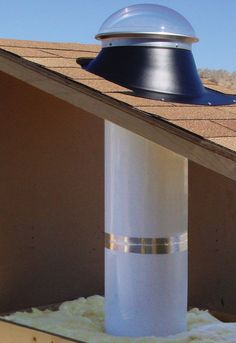 Natural Light Energy Systems, Tubular Skylight Kit - Energy-Efficient Daylighting - Green Building Supply