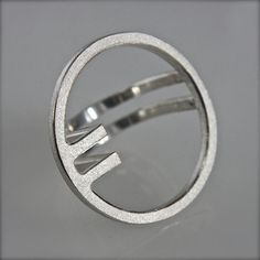 Ring OQ 1 in sterling silver by andreasschiffler on Etsy