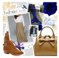 """TwinkleDeals Contest Entry"" by pastelneon ❤ liked on Polyvore featuring Polaroid"