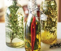 Bazalkový olej s chilli