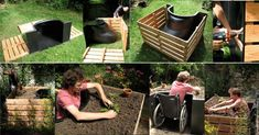 Terraform Raised Bed Makes Gardening Wheelchair Accessible Treehugger Homestead Survival, Raised Garden Beds, Raised Beds, Raised Gardens, Easy Garden, Lawn And Garden, Sensory Garden, Plantar, How To Make Bed