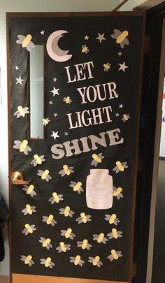 fireflies Dogs pet world Christian Classroom, Christian Bulletin Boards, Summer Bulletin Boards, Preschool Door, Preschool Bulletin Boards, Classroom Bulletin Boards, Bullentin Boards, Preschool Classroom, Classroom Activities
