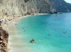Porto Katsiki beach, Lefkada island-Greece