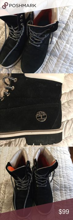 Timberland boots in good condition Very nice Timberland boots just right for the winter.  Bundle to save 15% one-day shipper five star rated. Timberland Shoes Boots