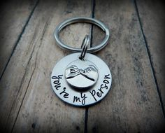 Pinky Swear Key chain - you're my person - Bridesmaid Gift - Best Friend Present - BFF Key Chain - Anniversary - Girlfriend Gift - kg6585 by kimgilbert3 on Etsy
