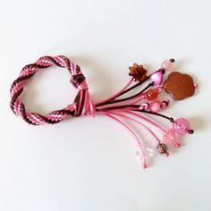 Kumihimo bracelet with beads by SublimebyJohannaLiz on Etsy, $12.00 I luv kumihimo bracelets finished with these beads.