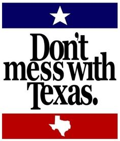 :) I'm from Texas so I love anything that has to do with Texas, everything is bigger in Texas and trust me, Texans know how to use a gun! lol I love my Lone Star State!