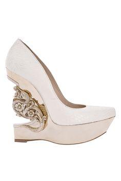 Roberto Cavalli fancy heel #shoeoftheday
