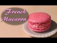 Miniature Cafe Polymer Clay Tutorial; French Macaron - YouTube