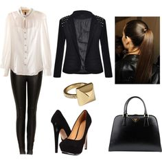 """work"" by pamsalas on Polyvore"