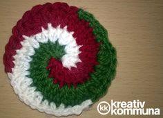 Spiral crochet tutorial.  Kokárda spirál horgolás Bettyvel, a BStyle Design alkotójával.