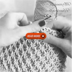 How to knit Jasmine Stitch video tutorial – Kahvaltılıklar – Decke Free Crochet Bag, Crochet Tote, Baby Blanket Crochet, Crochet Doily Patterns, Baby Knitting Patterns, Crochet Stitches, Twitter, Crafts, Crochet Teddy Bears