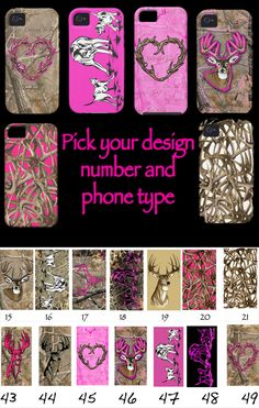 New HUNTING PHONE COVERS I want so bad I've searched everywhere!!!!!!!!!!!