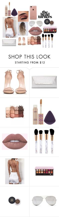 """""""stay with me"""" by rileeyyy on Polyvore featuring Stuart Weitzman, Dorothy Perkins, tarte, WithChic, Sunny Rebel and Belkin"""