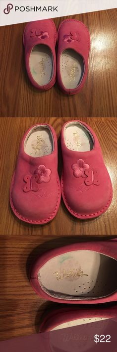 """Willits Sz8 pink clogs, NWOT Brand new leather """"paid clogs"""", great quality shoe 👠 Willits Shoes"""