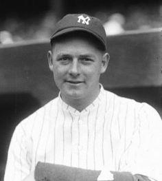 Waite Hoyt New York Yankees Baseball, Cardinals Baseball, Ny Yankees, Baseball Photos, Sports Photos, Giants Dodgers, Equipo Milwaukee Brewers, Mickey Mantle, Babe Ruth