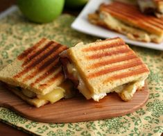 Brie, Ham and Green Apple Panini 3 @dreamaboutfood