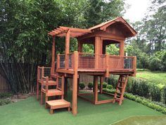 Offering Custom Redwood and Cedar Playsets and Swing Sets, Custom Playset Fort D. - Offering Custom Redwood and Cedar Playsets and Swing Sets, Custom Playset Fort Design in Houston, C - Backyard Fort, Backyard Playset, Backyard Playhouse, Build A Playhouse, Backyard Playground, Backyard For Kids, Backyard Projects, Playset Diy, Playground Design