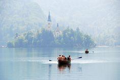 on Lake Bled