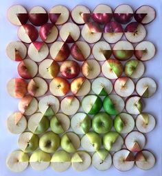 Apple Treeometry Art Print by Adam Hillman - X-Small L'art Du Fruit, Fruit Art, Apple Art, Garden Deco, Colossal Art, Art Plastique, Oeuvre D'art, Artsy Fartsy, Art Inspo