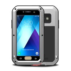 Metal Aluminum Armor For Phone Case Samsung A3 2017 Cover Full Body Protective For Phone Case Samsung Galaxy A3 2017 Shockproof #Affiliate
