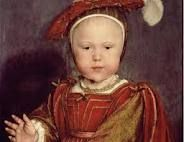 Edward VI, about the age that Bess would first have known him.