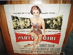 Party Girl (1958) Original Movie Poster