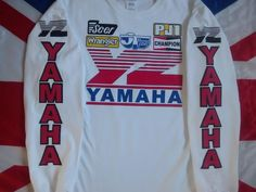 YZ YZ400 YZ490 YZ495 EVO MX Vintage Motocross Twinshock Ahrma Shirt Jersey | eBay